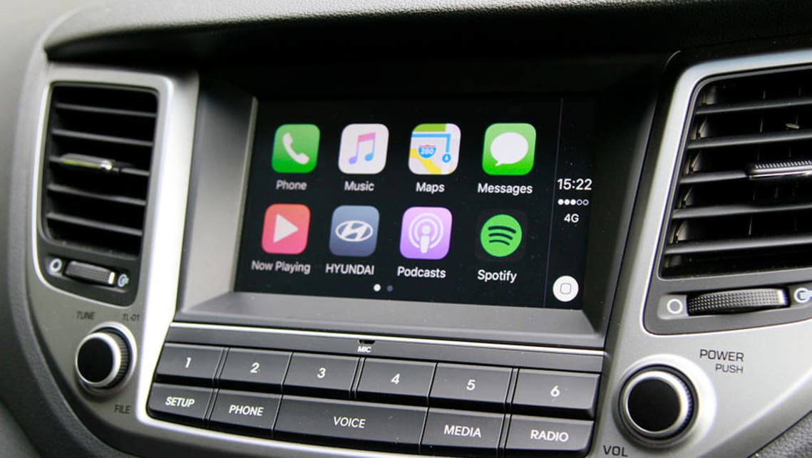 Only the Active and ActiveX grades score this head unit with Apple CarPlay and Android Auto.