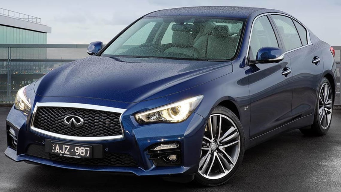2016 Infiniti Q50 (Red Sport variant shown)