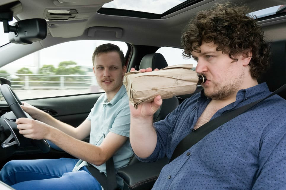 Is It Illegal For Passengers To Drink In A Car?