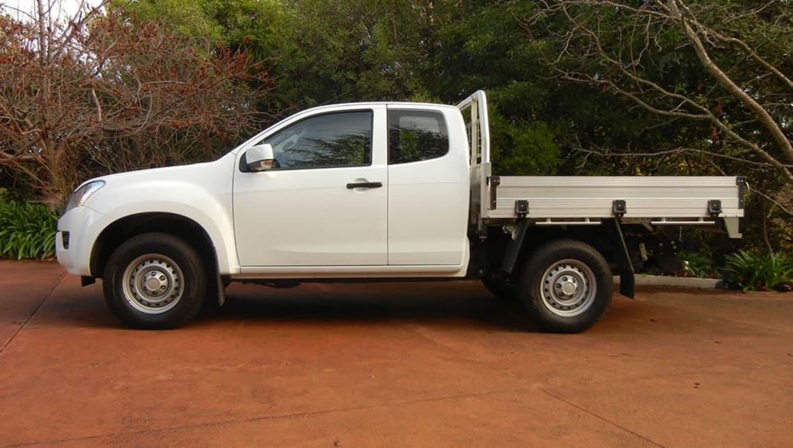 2016 Isuzu D-Max SX Space Cab Cab-Chassis 4x4
