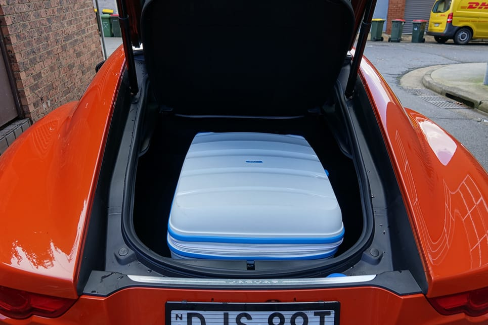 The boot has 310 litres on offer, rising to 408 with the removable parcel tray out of the picture. (Image credit: James Cleary)