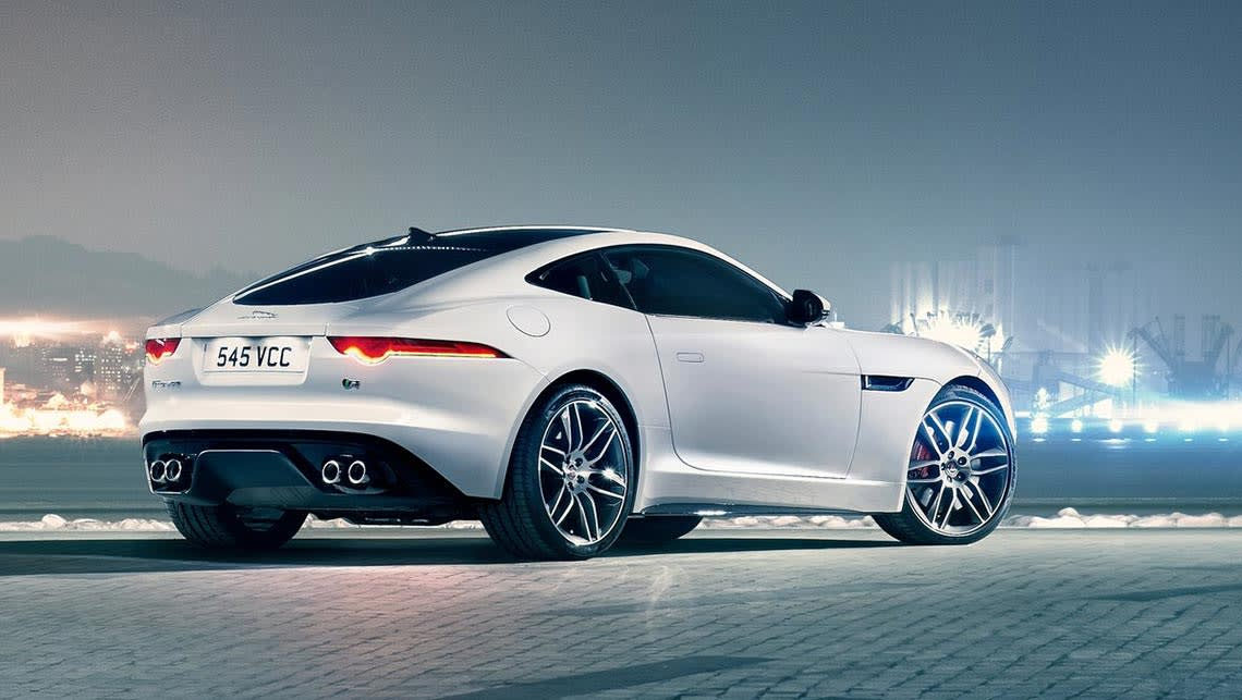 Jaguar F-Type Coupe R.