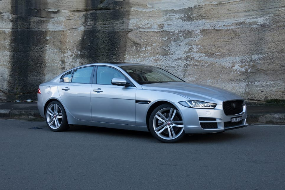 2017 Jaguar XE 20t Prestige. Image credit: James Cleary.