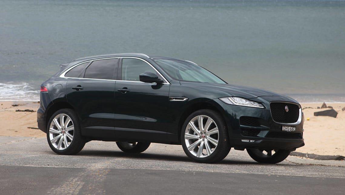 Jaguar F-Pace Portfolio diesel 2016 review | CarsGuide