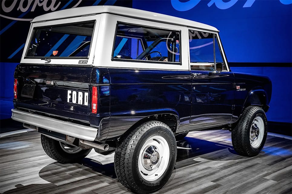 Jay Leno's 1968 Ford Bronco. (image: The Drive)