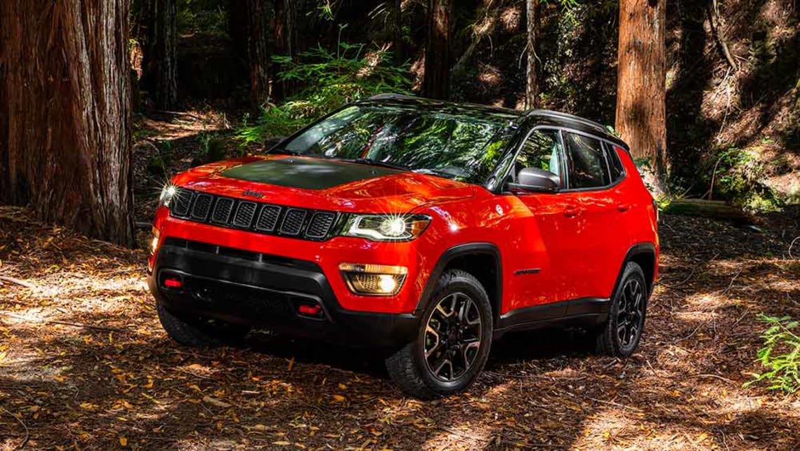 2017 Jeep Compass Trailhawk.