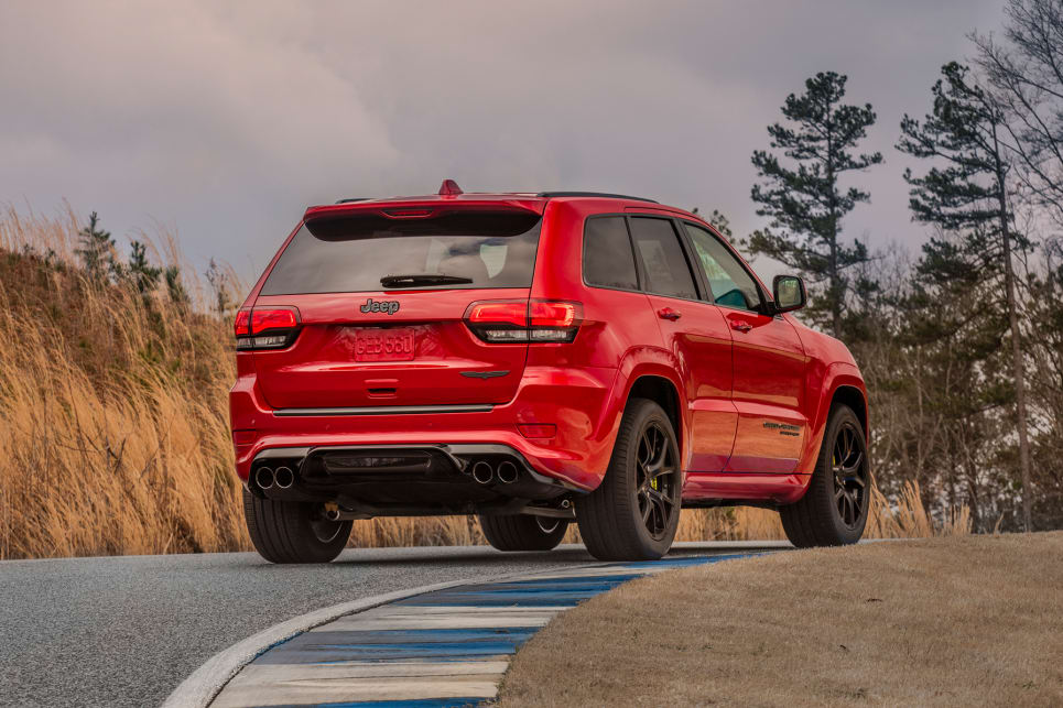 2018 Jeep Grand Cherokee: New Trackhawk Version, Specs, Price >> Jeep Grand Cherokee Trackhawk 2018 Price And Specification Confirmed