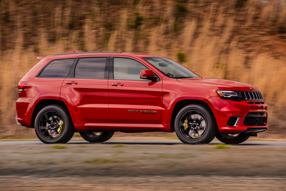 Jeep Grand Cherokee Trackhawk 2018 Price And Specification