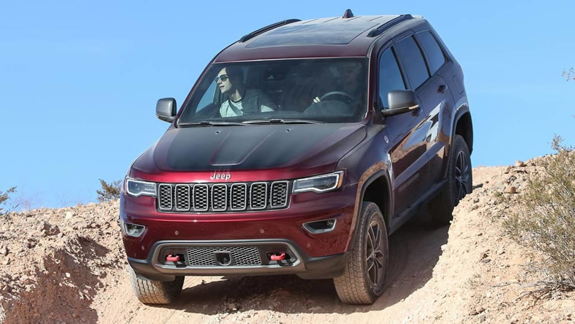 2017 Jeep Grand Cherokee Trailhawk.