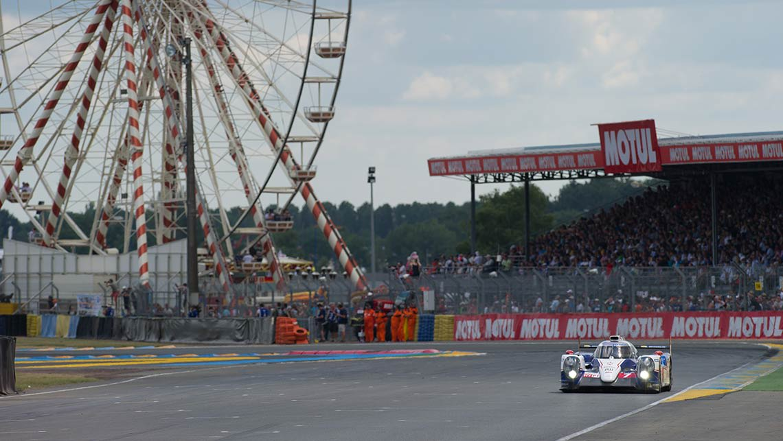 Toyota at Le Mans 2014