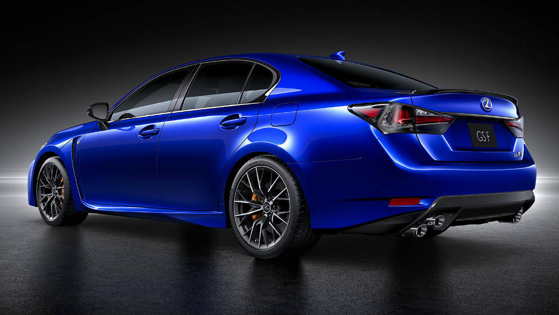 2016 Lexus GS F revealed