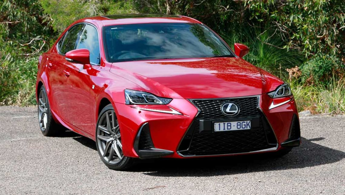 Lexus IS200t F Sport 2017. Image credit: Peter Anderson.