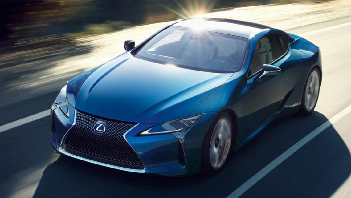 2017 Lexus LC 500h (international model shown)