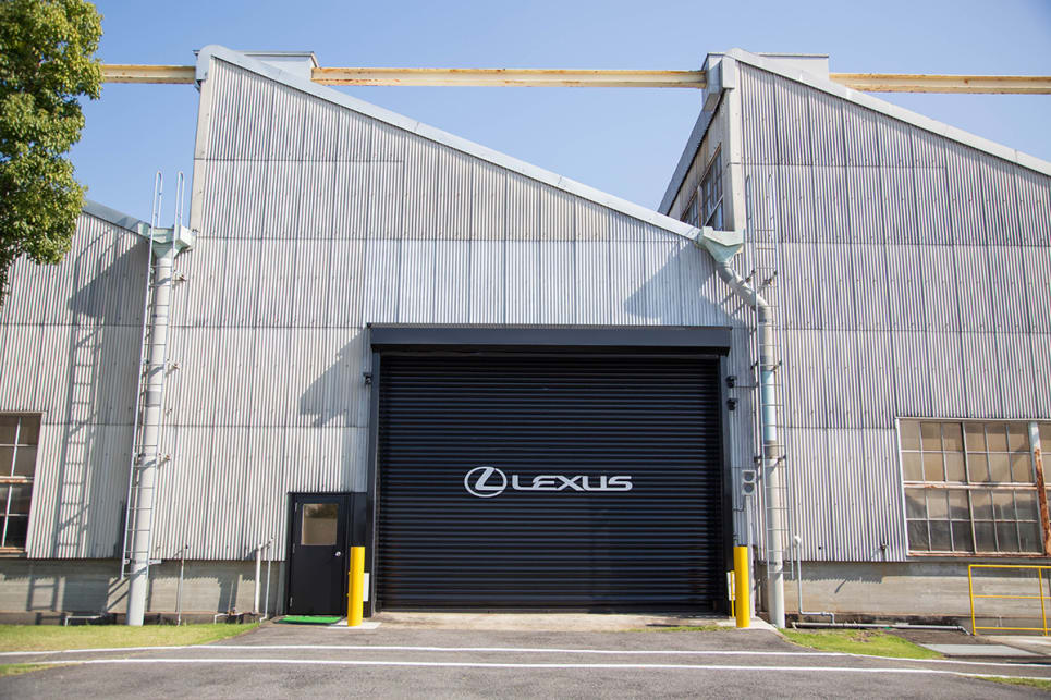 The Lexus Motomachi plant, where final assembly of every LC500 Coupe happens. (image credit: James Cleary)