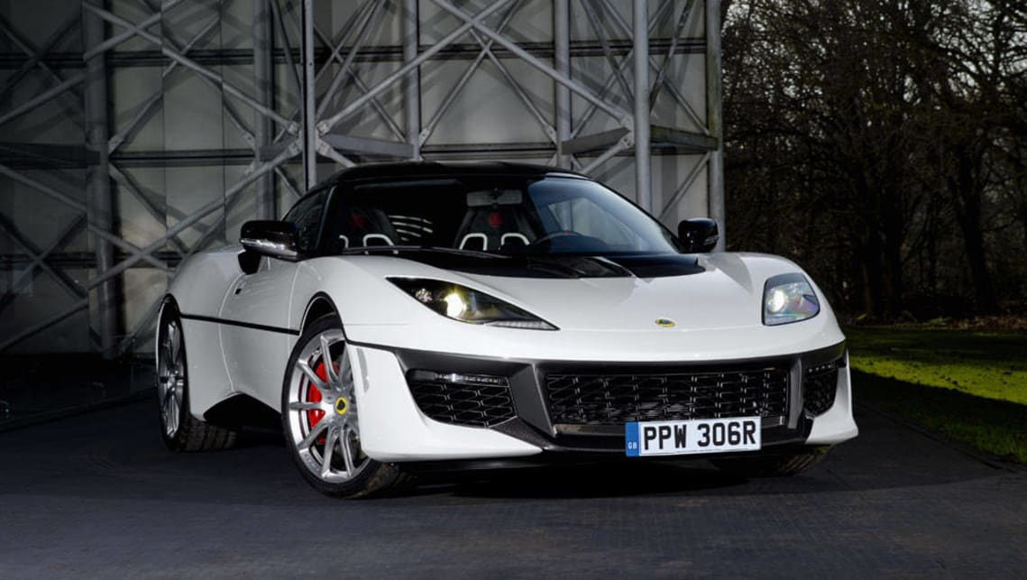 James Bond's amphibious Lotus Esprit from 1977's The Spy Who Loved Me was the inspiration for this unique Evora Sport 410.