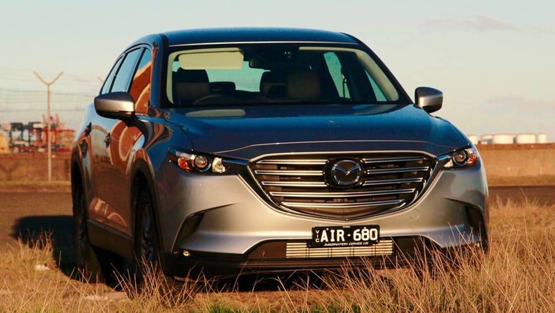 2016 Mazda CX-9 Touring AWD.