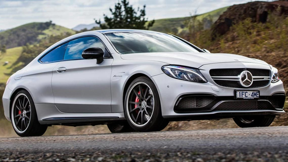 2016 Mercedes-Benz AMG C63 Coupe.