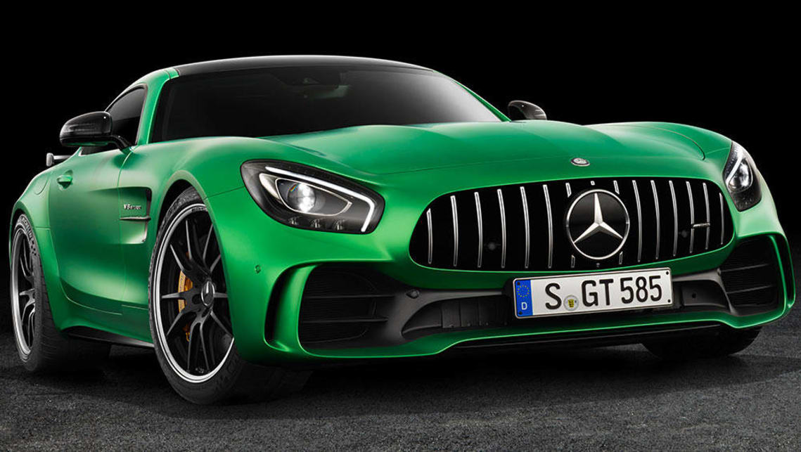 Mercedes-AMG GT R 2017 coupe.