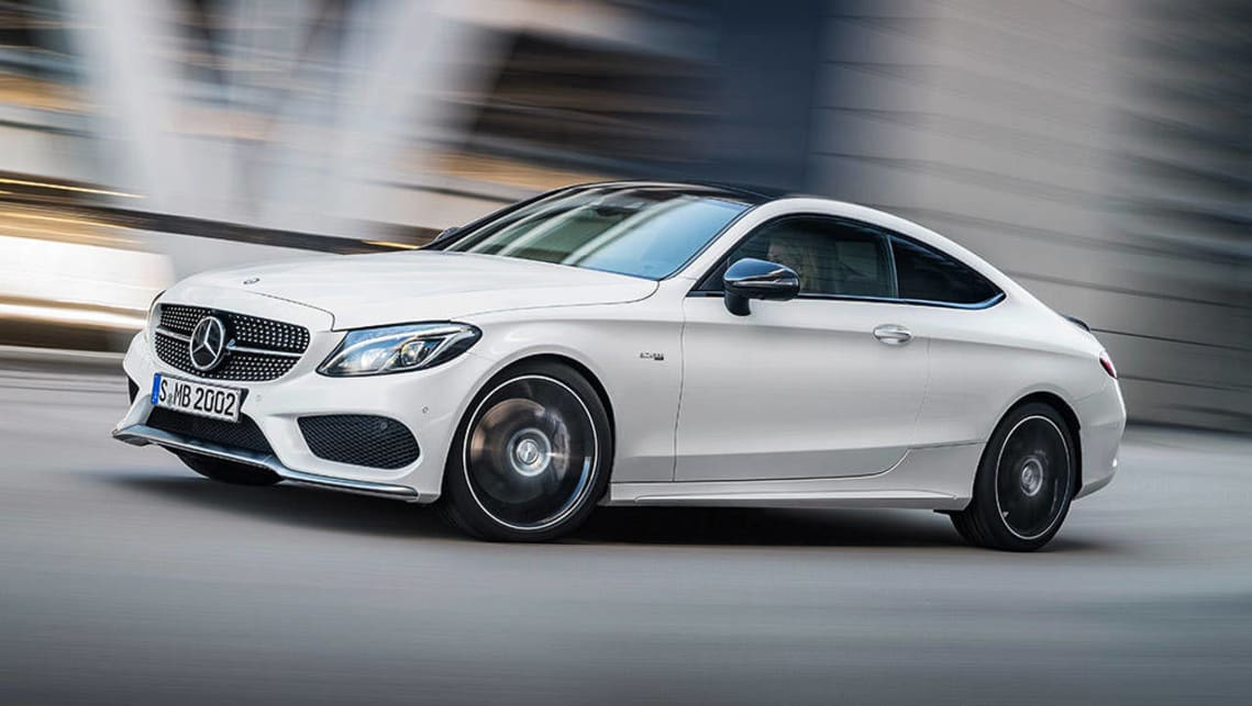 2016 Mercedes-AMG C43 Coupe.