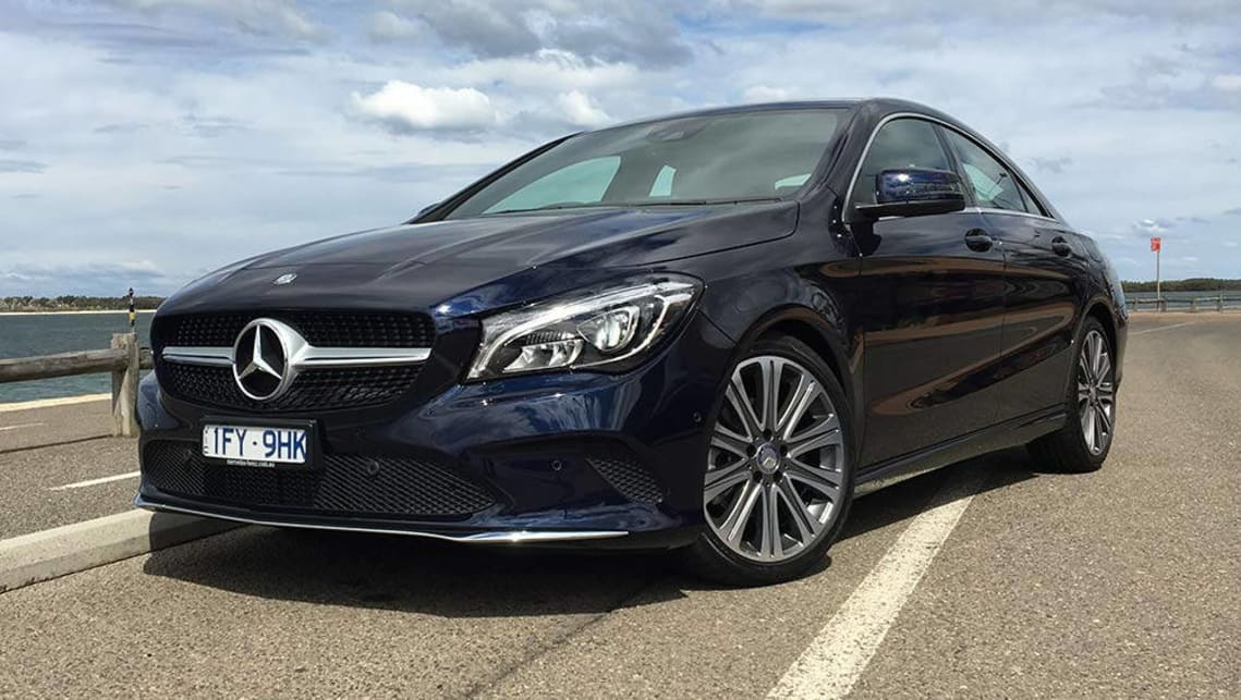 2016 Mercedes-Benz CLA 200. Picture credit: Peter Anderson.