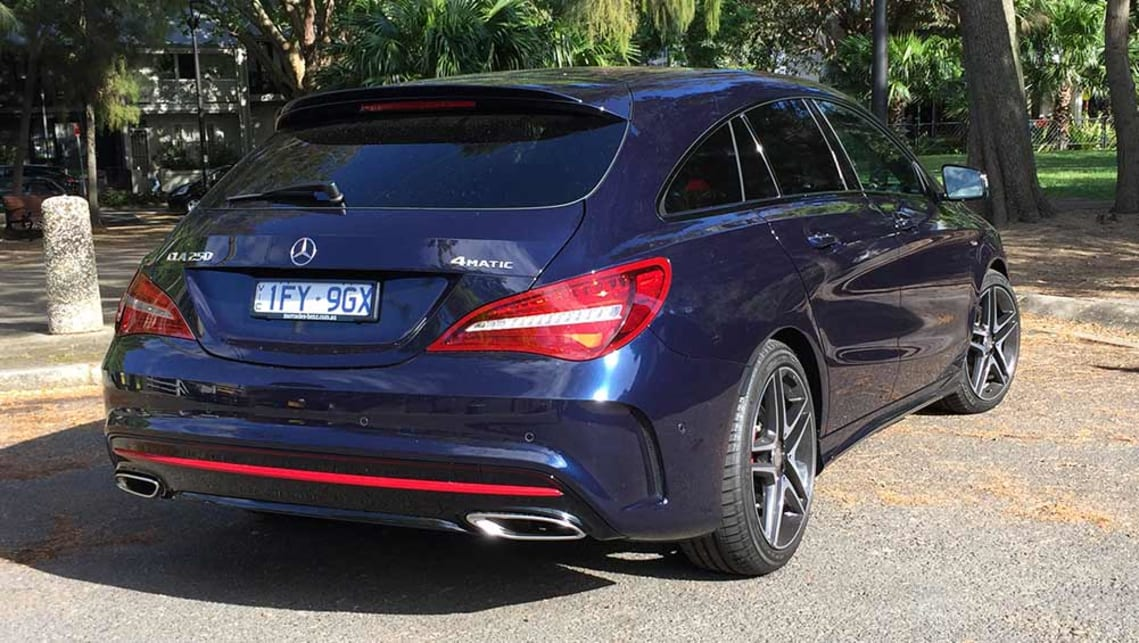 Mercedes-Benz CLA 250 Sport 4Matic shooting brake 2016