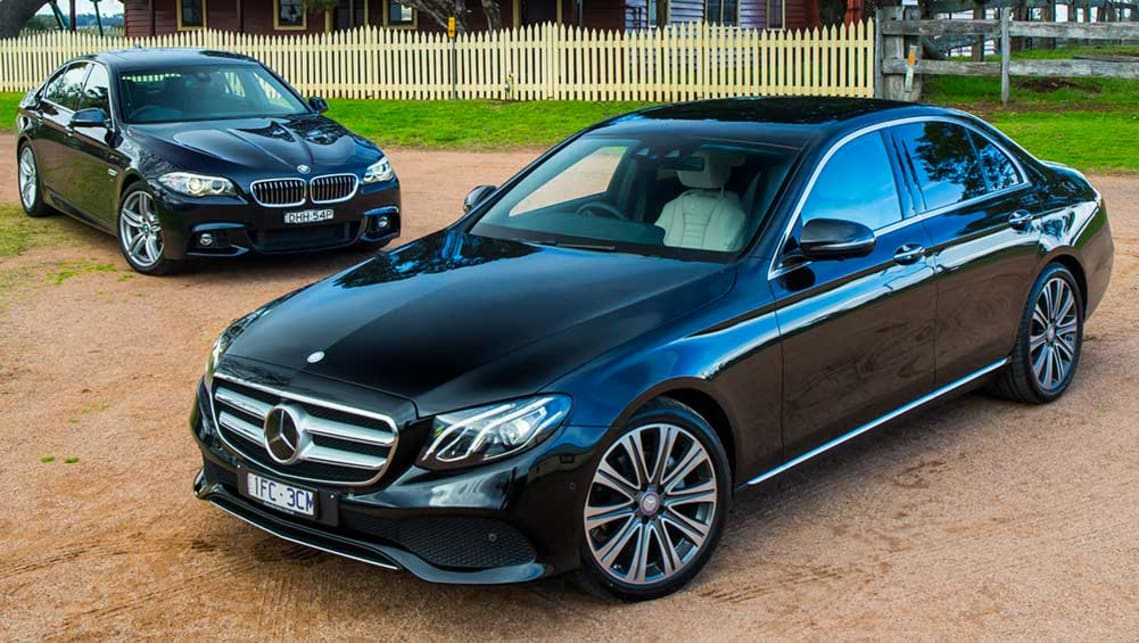BMW 520d and Mercedes-Benz E220d