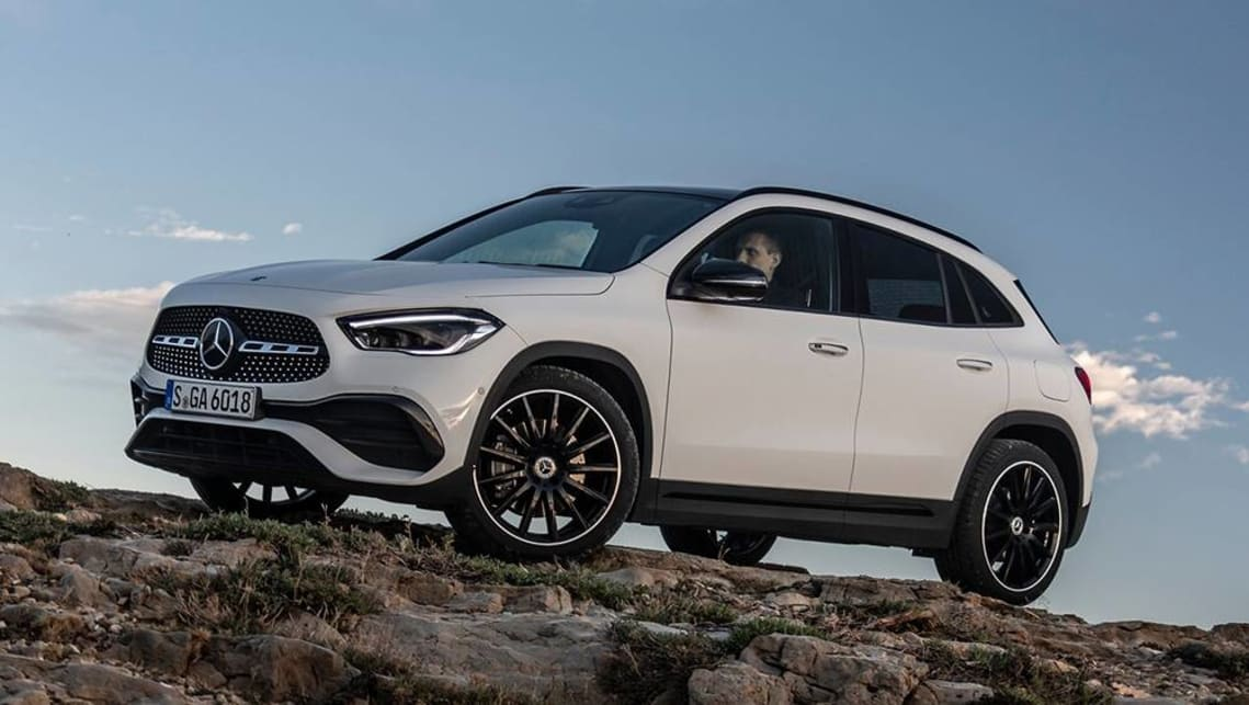 New Mercedes Benz Gla 2021 Pricing And Spec Detailed Costs Up For Audi Q3 And Bmw X2 Rivalling Premium Small Suv Car News Carsguide
