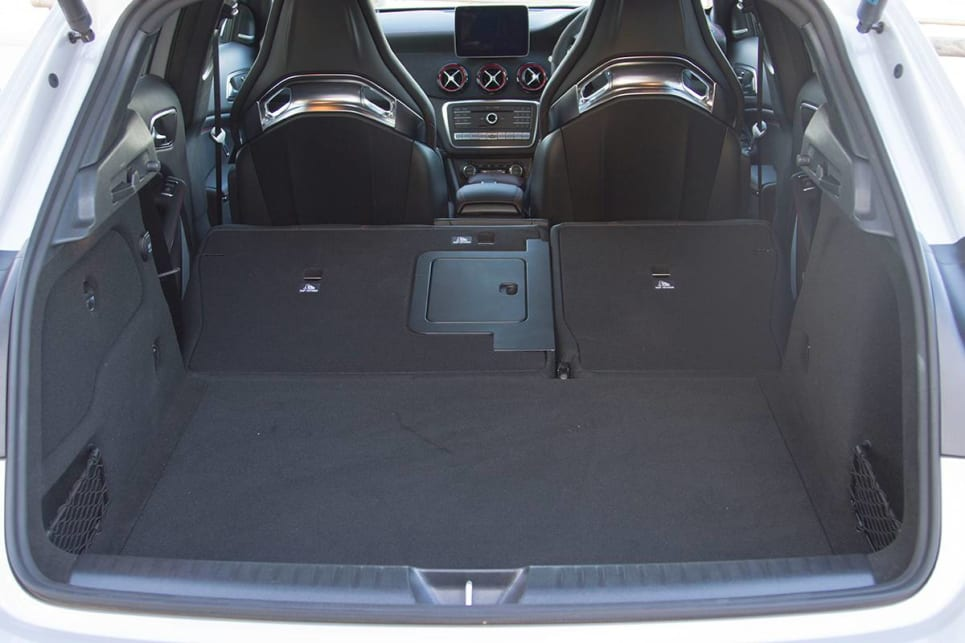Boot space rises to 1235 when you drop both rear seats. (image: Peter Anderson)