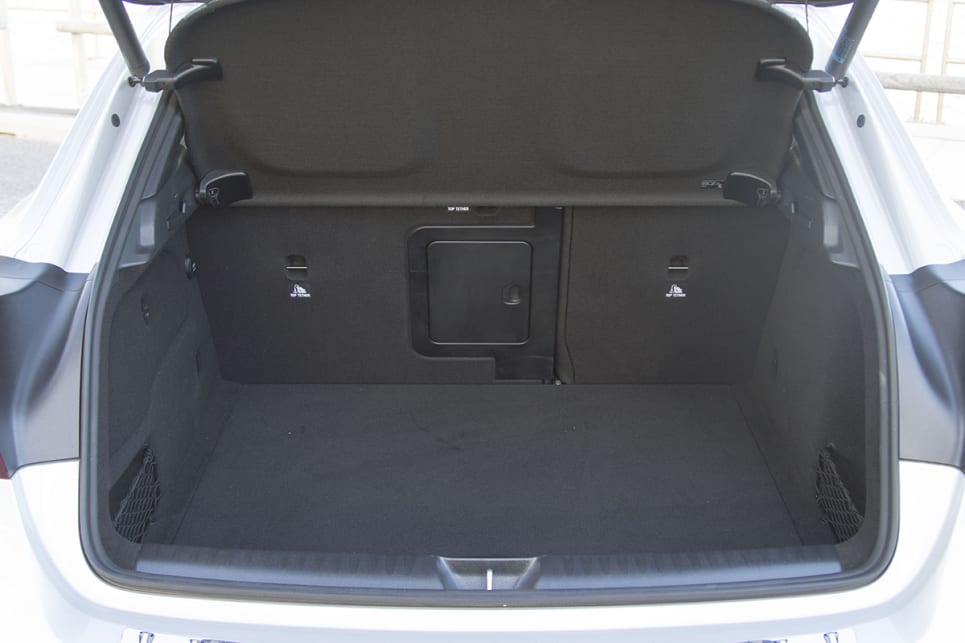 The GLA's boot holds an entirely reasonable 421 litres. (image: Peter Anderson)