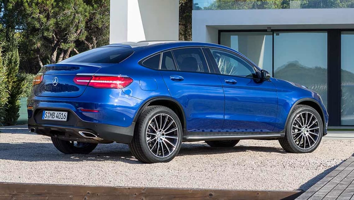 2016 Mercedes-Benz GLC coupe.