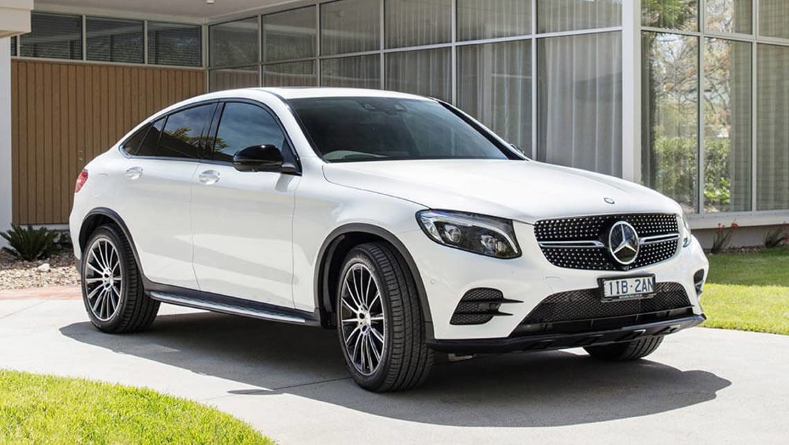 Mercedes-Benz GLC-Class GLC250 Coupe 2016 Review: Snapshot