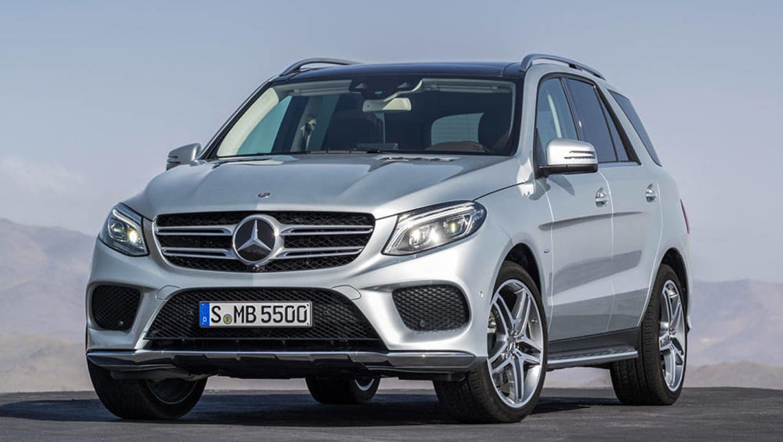 2016 Mercedes-Benz GLE 500e (international model shown)