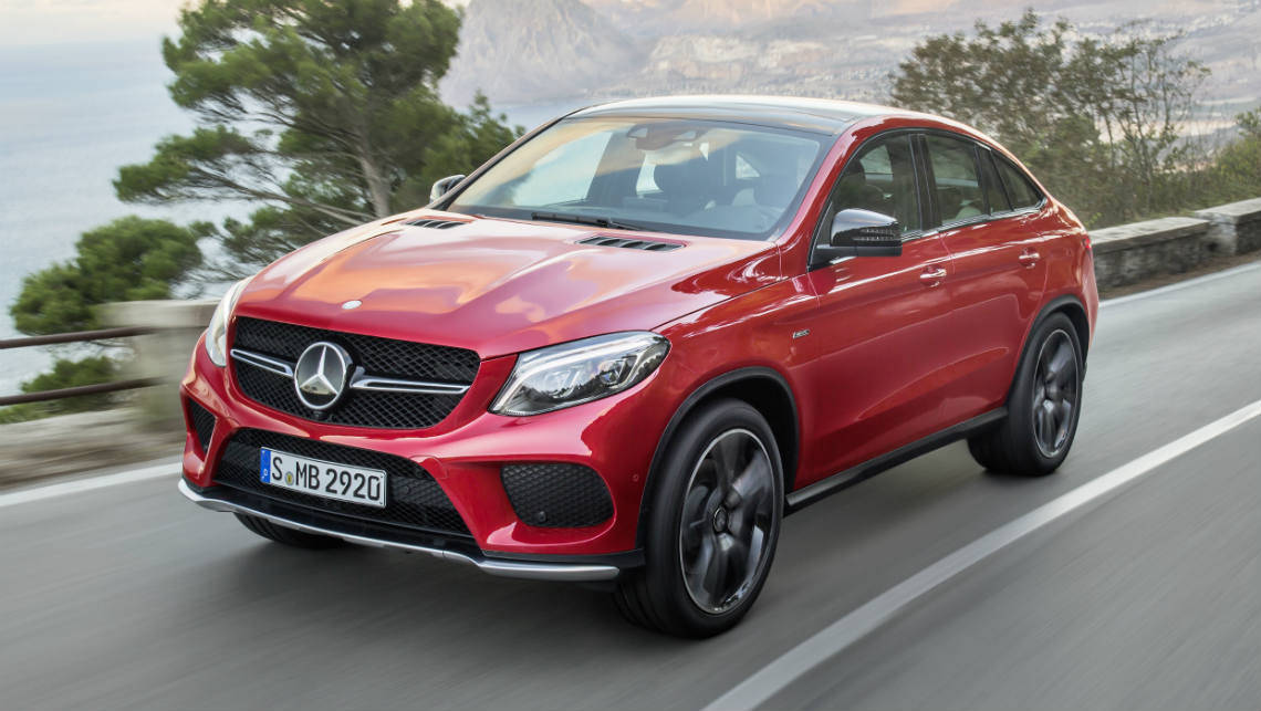 2015 Mercedes-Benz GLE 450 AMG Coupe