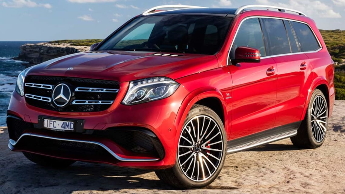 2016 Mercedes-AMG GLS 63 4MATIC