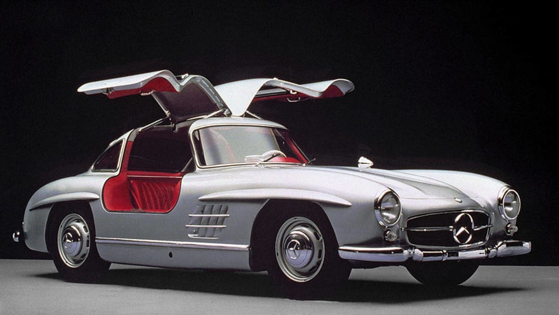 1955 Mercedes-Benz 300 SL Gullwing.