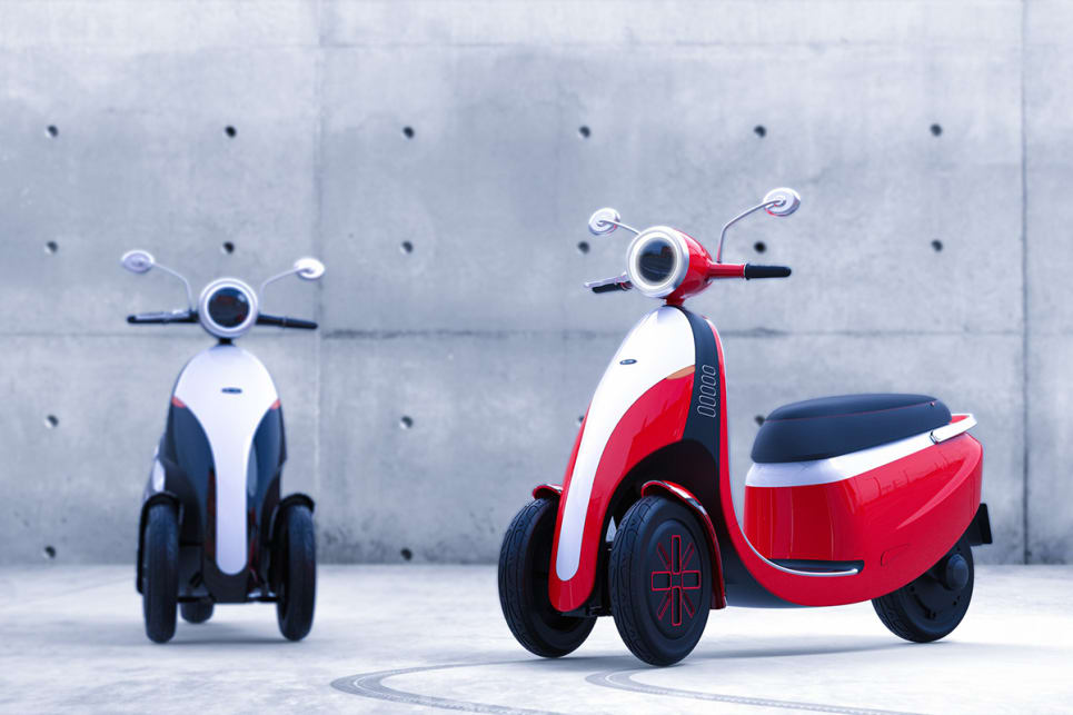 European mobility company Microlino has unveiled a new three-wheel electric motorcycle concept known as the Microletta.