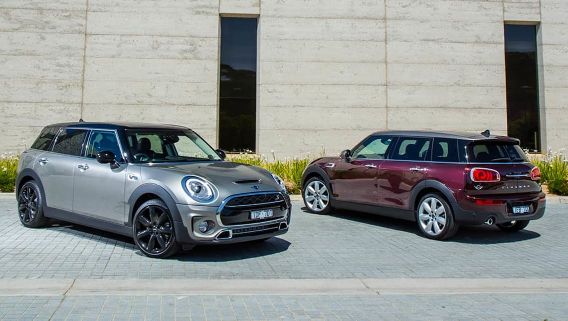 2015 Mini Clubman Cooper S and Cooper