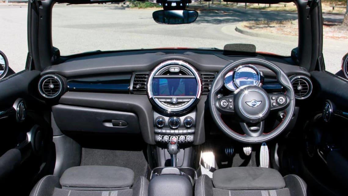 Mini Cabrio John Cooper Works manual convertible 2016 review
