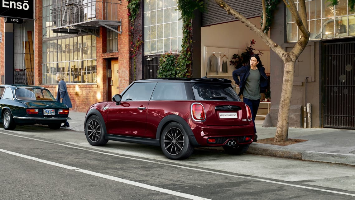 For the extra money, the Kensington Edition will score 'Pure Burgundy' paint.