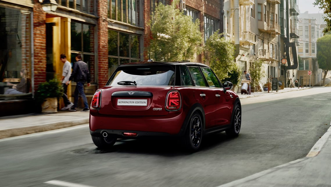 The Mini Kensington Edition is offered only through an online portal where examples of the limited-edition hatch can be allocated to customers.