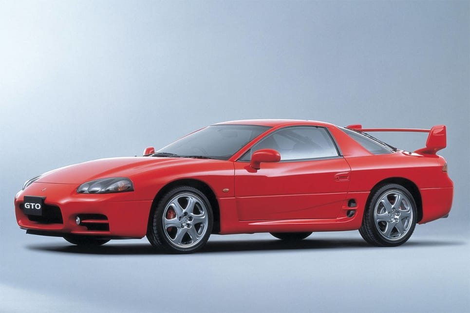 Mitsubishi's answer the the Toyota Supra and Nissan 300ZX.