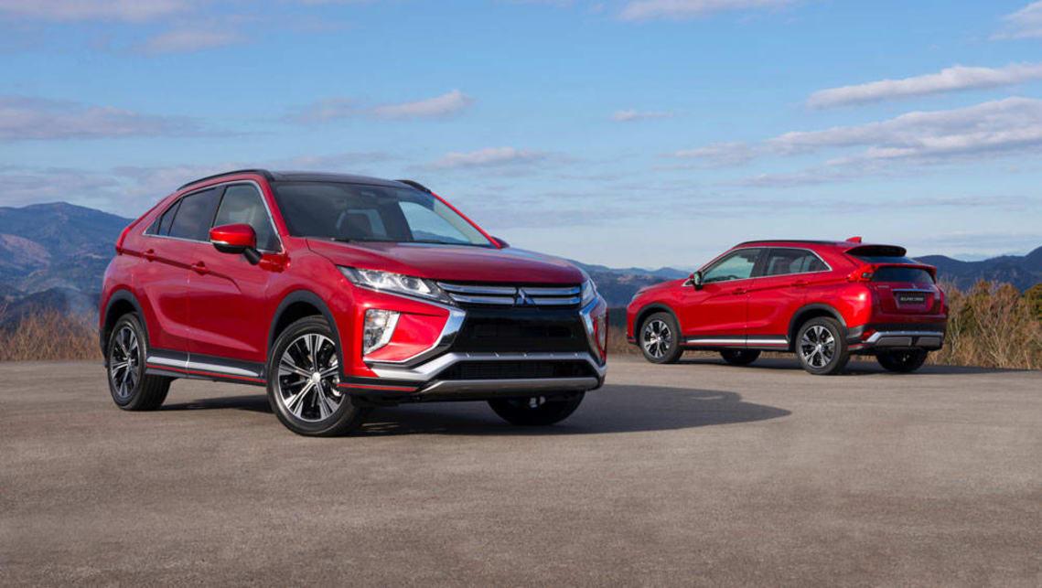 Mitsubishi Eclipse 2015 >> 2017 Mitsubishi Eclipse Cross Previewed Car News Carsguide