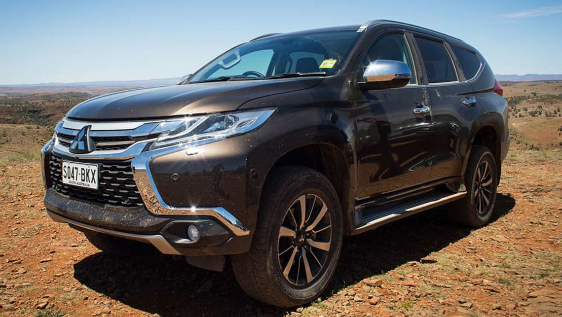 2016 Mitsubishi Pajero Sport Exceed in the South Australian Outback. Image credit: Dean McCartney.