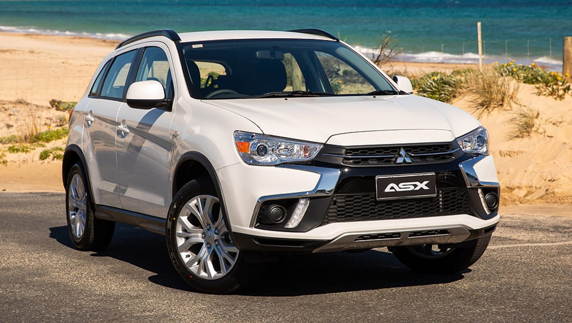 The ASX is the roomiest, cheapest and among the best-equipped in its class.