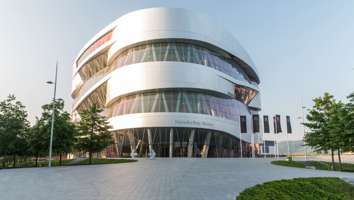 The current Mercedes-Benz museum opened in 2006.