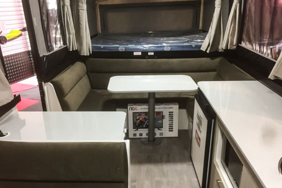 If you like sleek things, this is the camper for you. Images by New Age Caravans and Brendan Batty/campertrailerreview.com.au