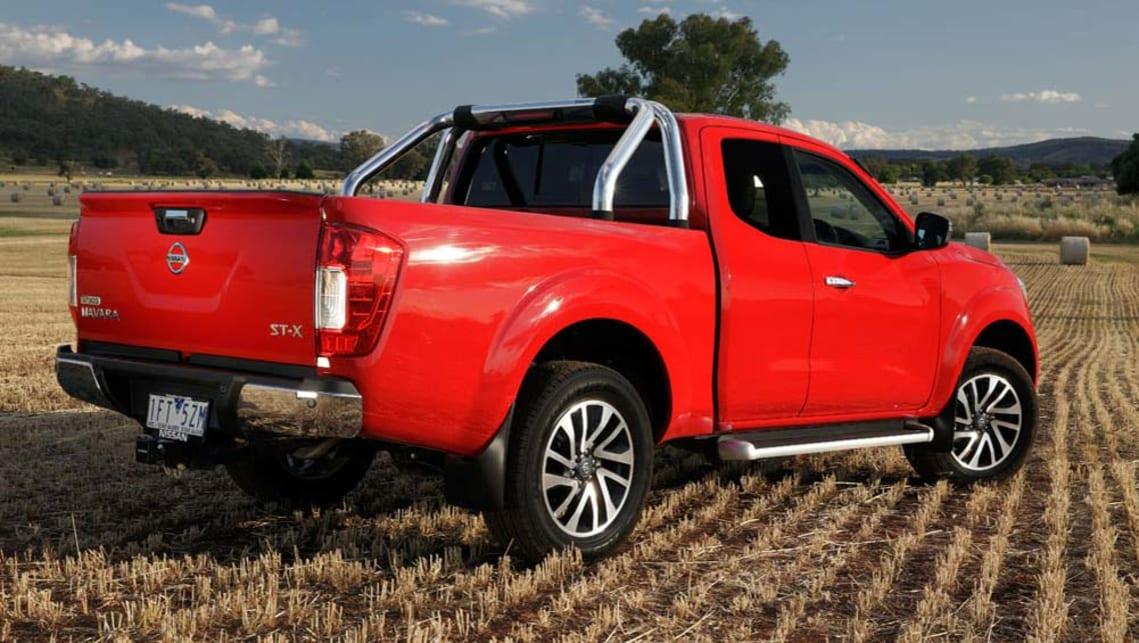 Nissan Navara leaf-spring variants 2015 review | CarsGuide