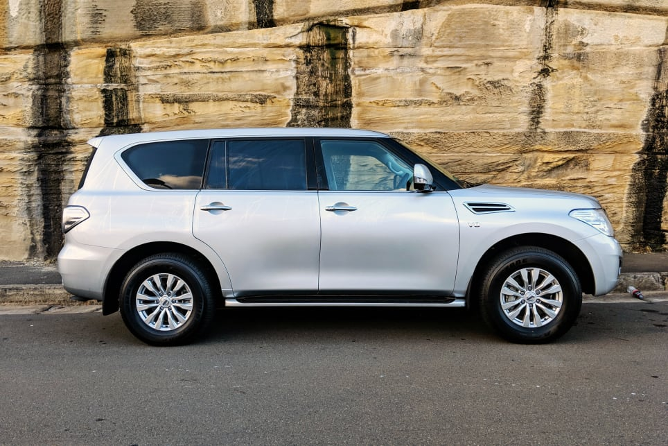 The Nissan Patrol keeps its passengers happy on family road trips.
