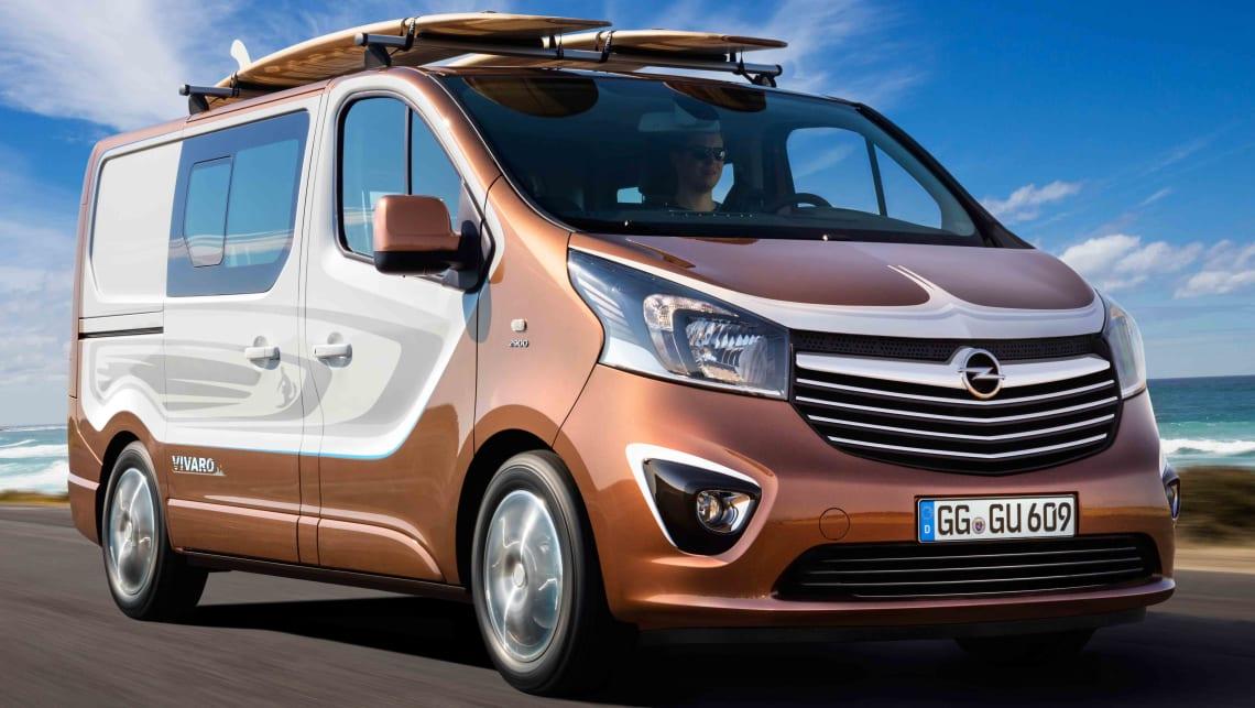 Opel Vivaro Surf Edition Previews Next Holden Sandman Car News