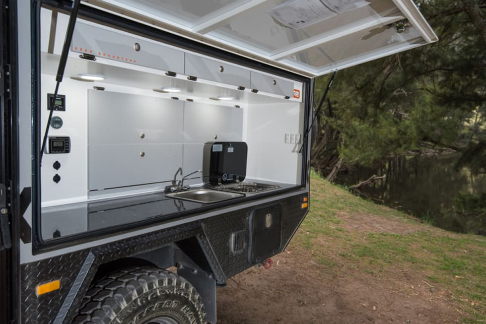 This is the hybrid camper to buy if you don't want to say you've got a caravan, but really like all the caravan comforts. Images by Brendan Batty/campertrailerreview.com.au